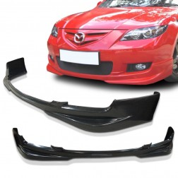 MS Style Front Bumper Lip For Mazda 3 2007-2009 4DR